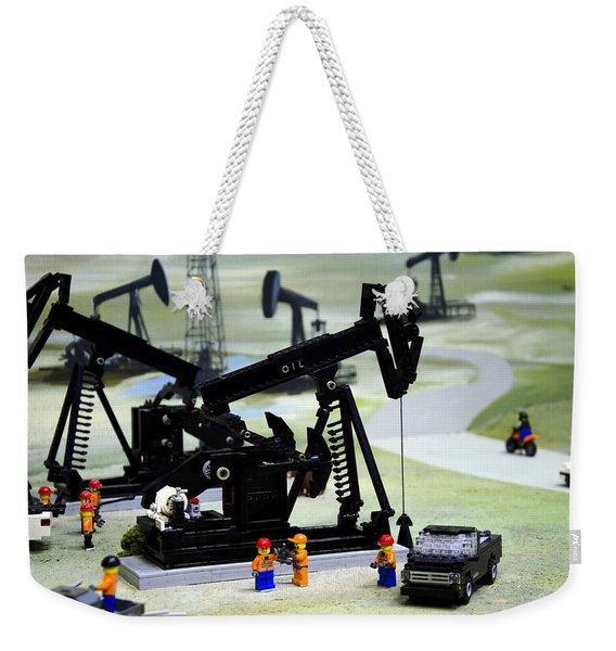 Lego Oil Pumpjacks Weekender Tote Bag