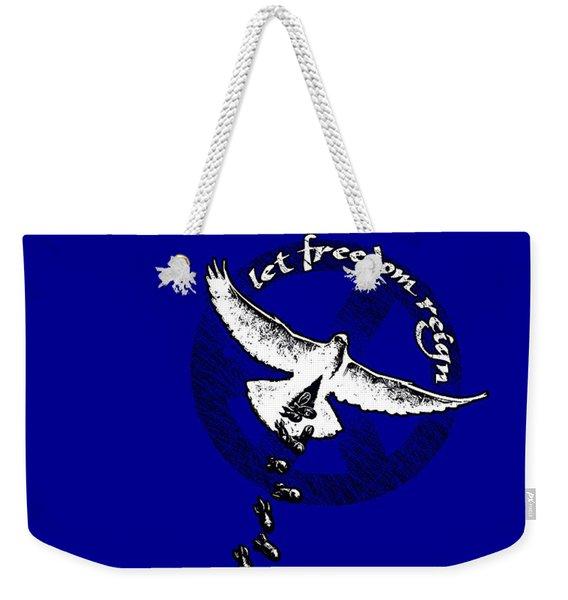 Let Freedom Reign Weekender Tote Bag