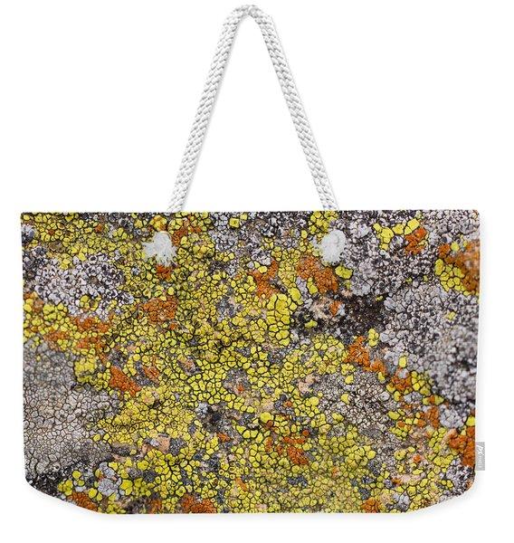 Lichens Weekender Tote Bag