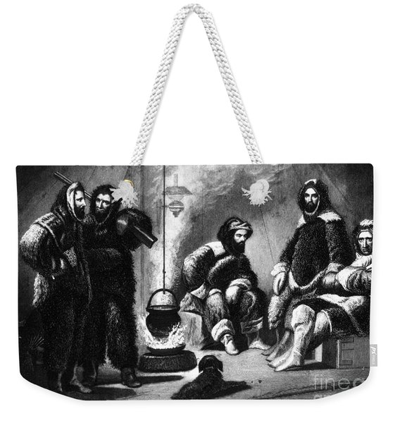 Life In The Arctic, 19th Century Weekender Tote Bag