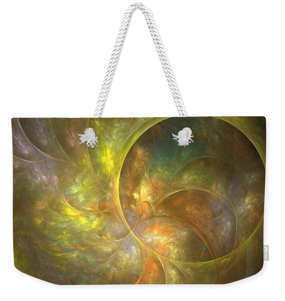 Life Of Leaf - Abstract Art Weekender Tote Bag