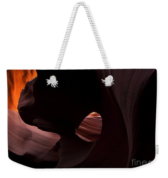 Light In The Eye Weekender Tote Bag
