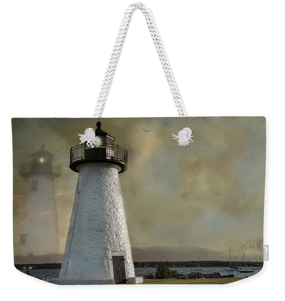 Light Through Time Weekender Tote Bag