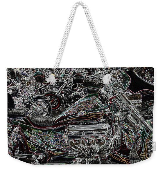 Lights Out  Weekender Tote Bag