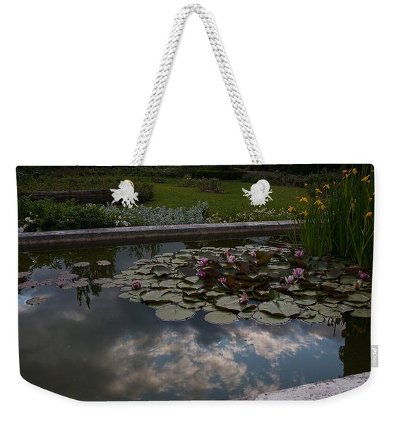 Lillies And Clouds Weekender Tote Bag