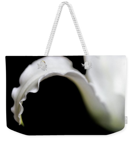 Lily Petal From A Side View Weekender Tote Bag