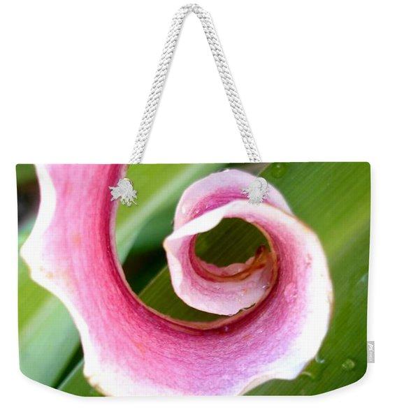 Lily Spiral Weekender Tote Bag