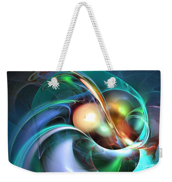 Limbo Of Oblivion Abstract Art Weekender Tote Bag