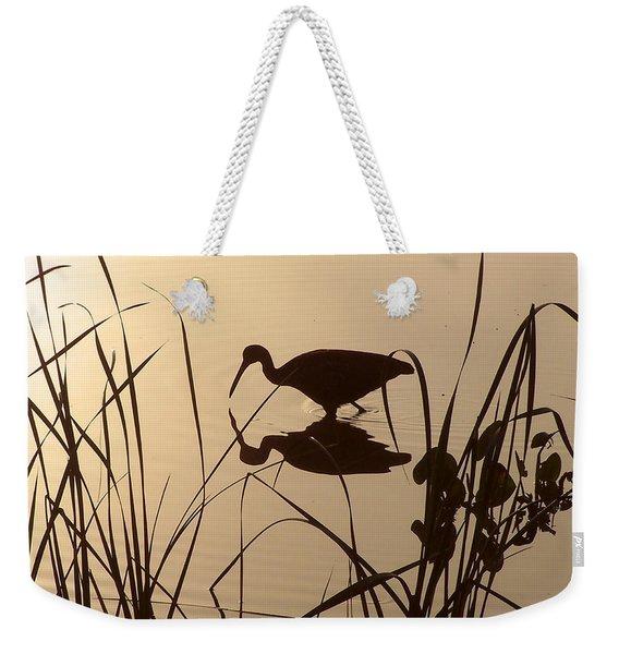 Limpkin At Dawn Weekender Tote Bag