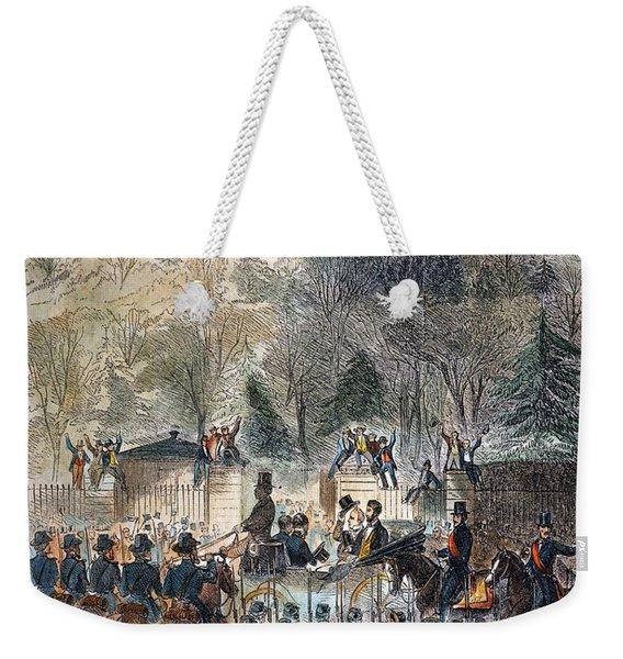 Lincoln Inauguration Weekender Tote Bag