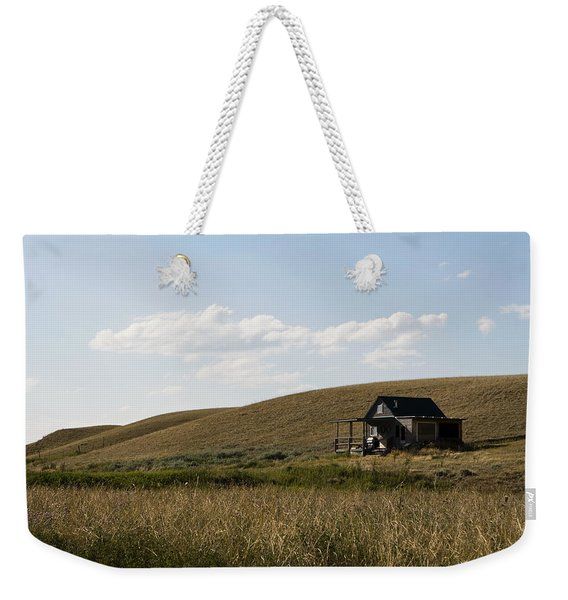 Weekender Tote Bag featuring the photograph Little House On The Plains by Lorraine Devon Wilke