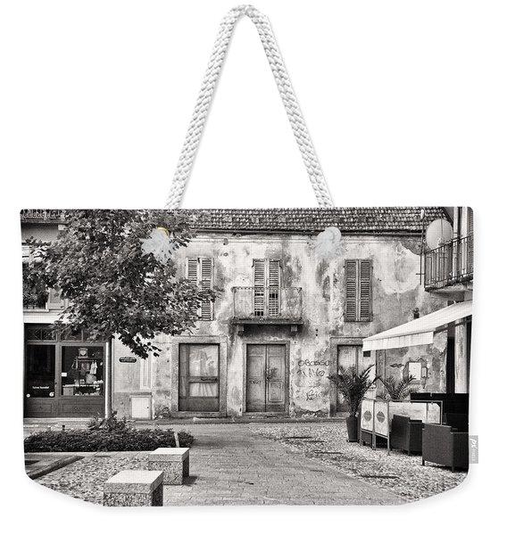 Little Italian Corner Weekender Tote Bag