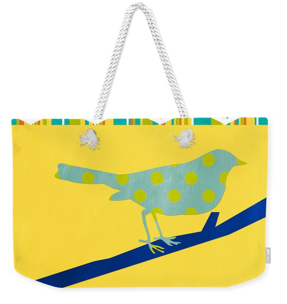 Little Song Bird Weekender Tote Bag