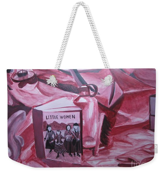 Little Women Weekender Tote Bag