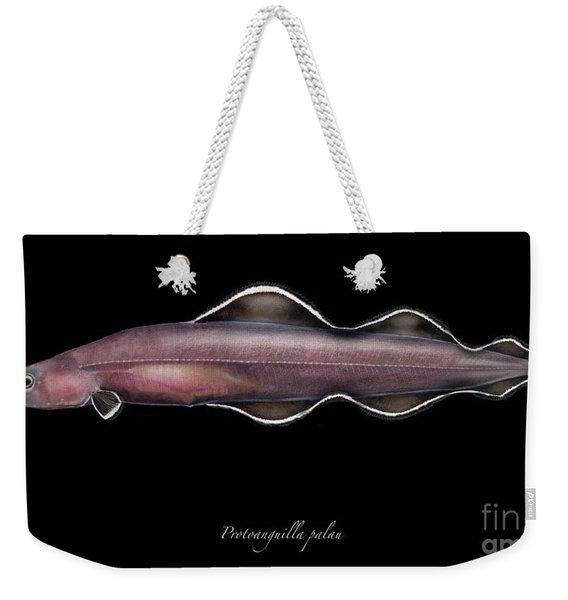 Living Fossil Eel - Protoanguilla Palau - By Maassen-pohlen Weekender Tote Bag