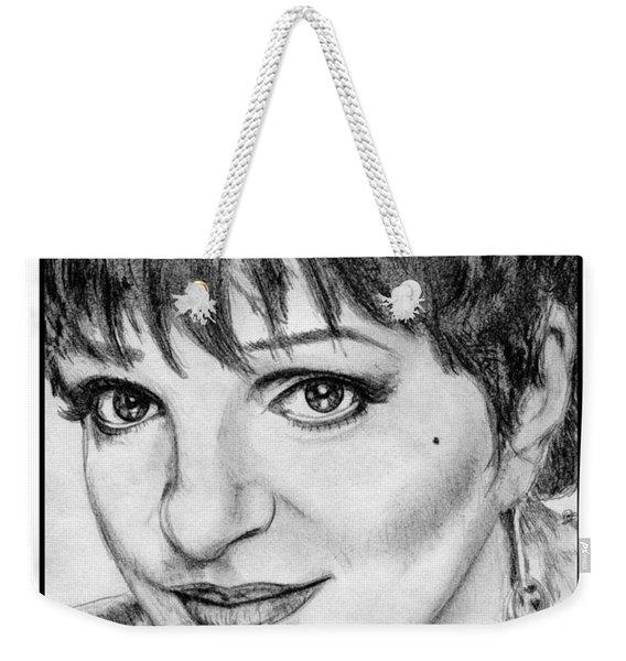 Liza Minnelli In 2006 Weekender Tote Bag