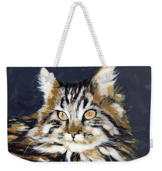 Looking At Me? Weekender Tote Bag