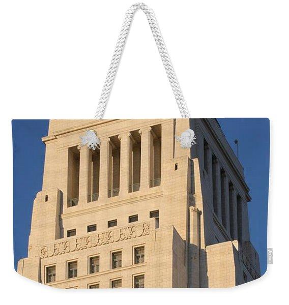 Los Angeles City Hall Weekender Tote Bag