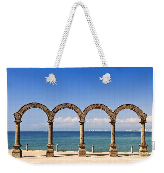 Los Arcos Amphitheater In Puerto Vallarta Weekender Tote Bag