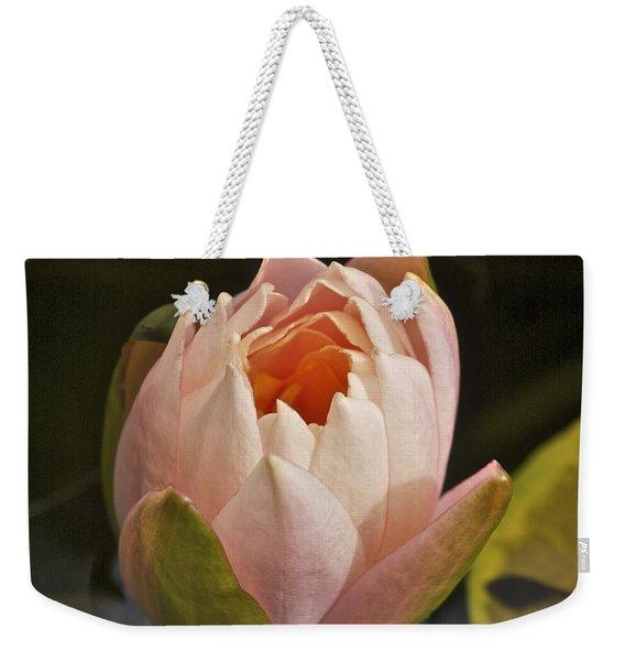 Lotus Opening 2804 Weekender Tote Bag