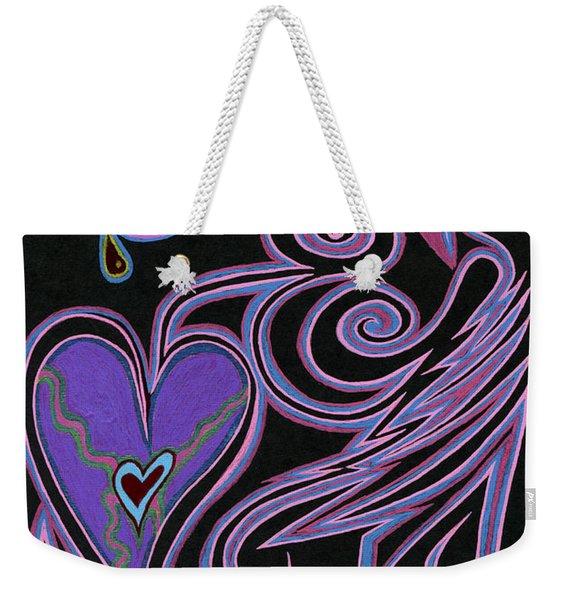 Love So Precious Weekender Tote Bag