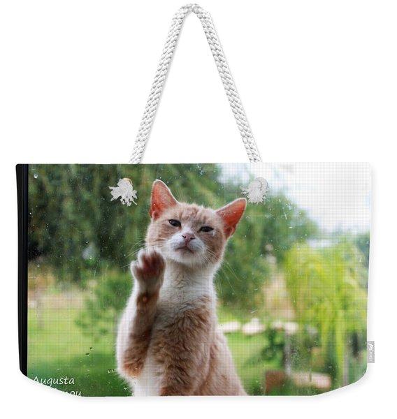 Lovely Cat Weekender Tote Bag