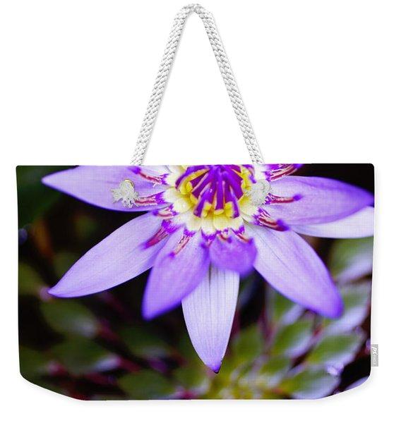 Lovely Lavendar Liliy Weekender Tote Bag