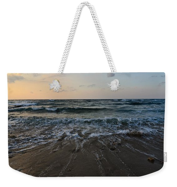 Weekender Tote Bag featuring the photograph Low Tide by Michael Goyberg