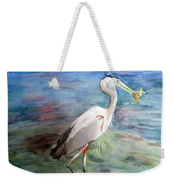 Lunchtime Watercolour Weekender Tote Bag