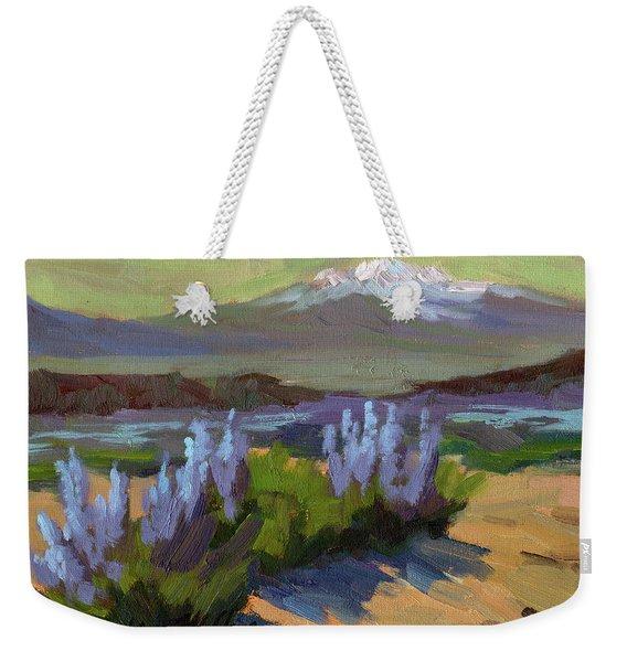 Lupine In Bloom Weekender Tote Bag