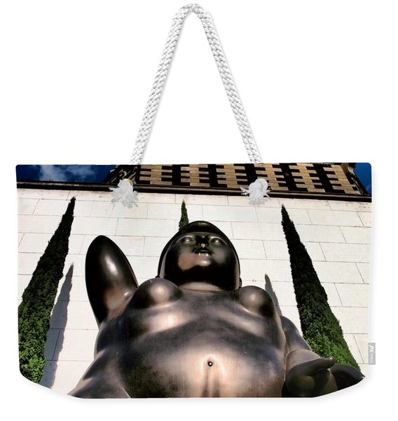 Weekender Tote Bag featuring the photograph Magdalene by Skip Hunt