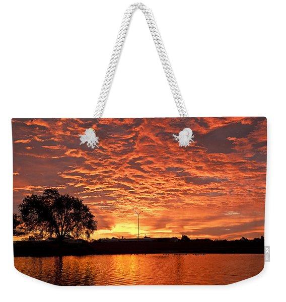 Magic Sunrise Weekender Tote Bag