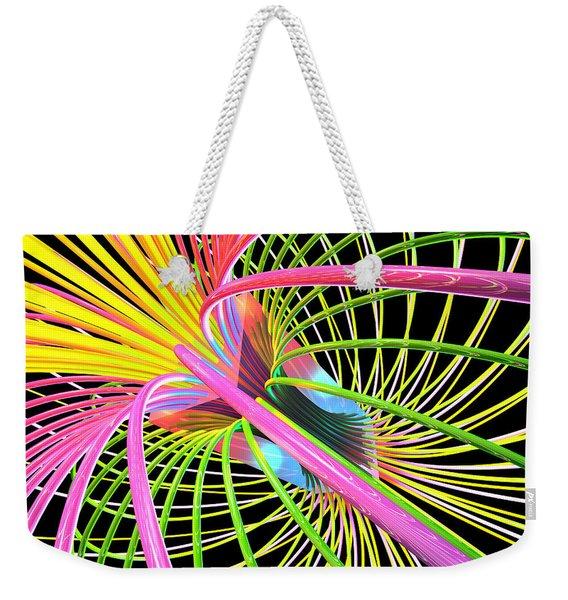 Magnetism 4 Weekender Tote Bag