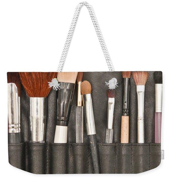 Make Up Brushes Weekender Tote Bag