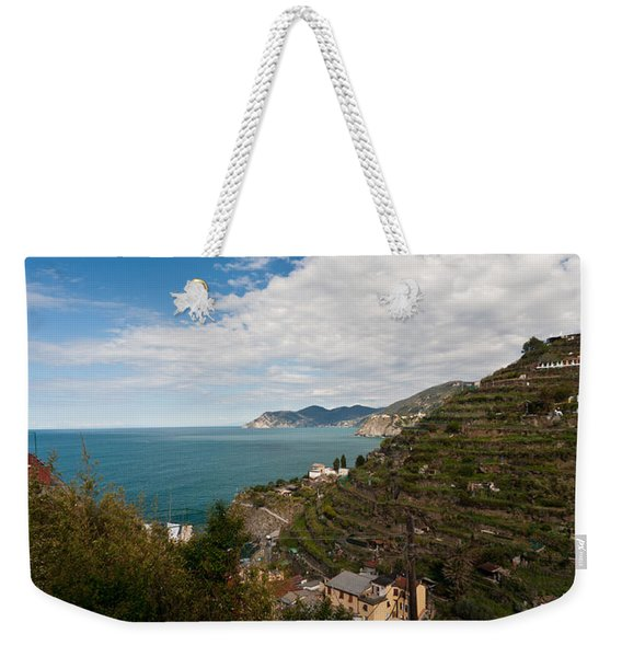 Manarola Terraces Weekender Tote Bag