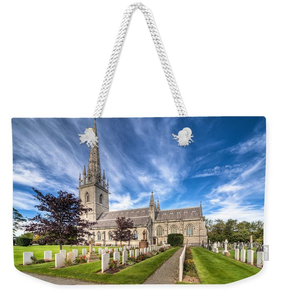 Marble Church Weekender Tote Bag