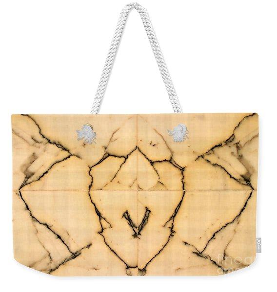 Marble Face Weekender Tote Bag