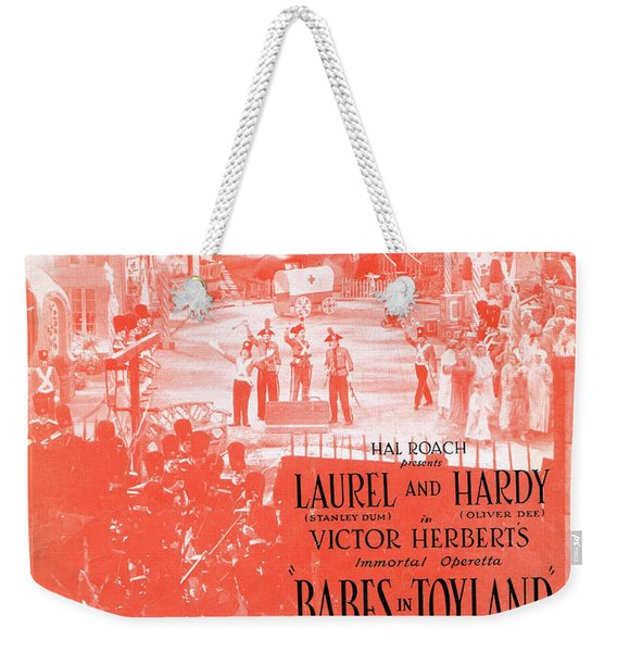 March Of The Toys Weekender Tote Bag