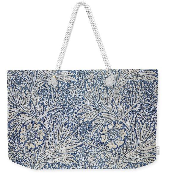 Marigold Wallpaper Design Weekender Tote Bag