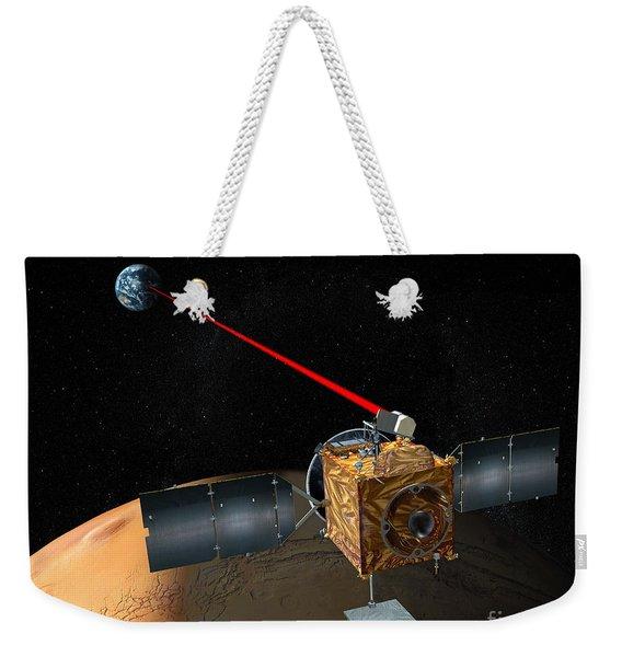 Mars Telecommunications Orbiter Weekender Tote Bag