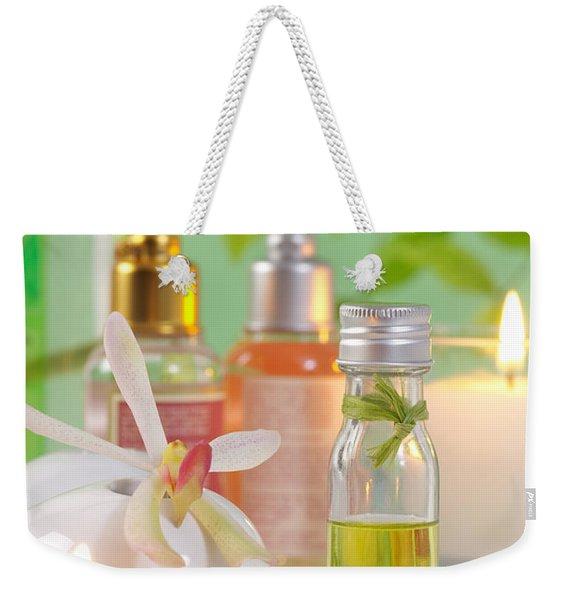 Massage Spa Concepts Weekender Tote Bag