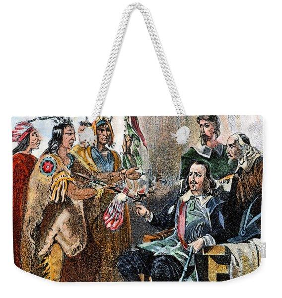 Massasoit & Carver, 1620 Weekender Tote Bag
