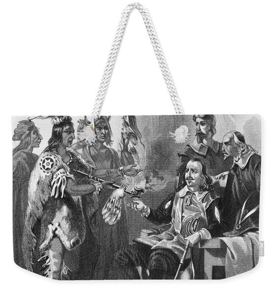 Massassoit & Carver, 1620 Weekender Tote Bag