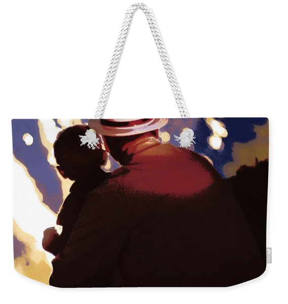 Me And Papa - 4th Of July Weekender Tote Bag