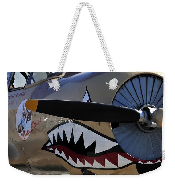 Mean Machine Weekender Tote Bag