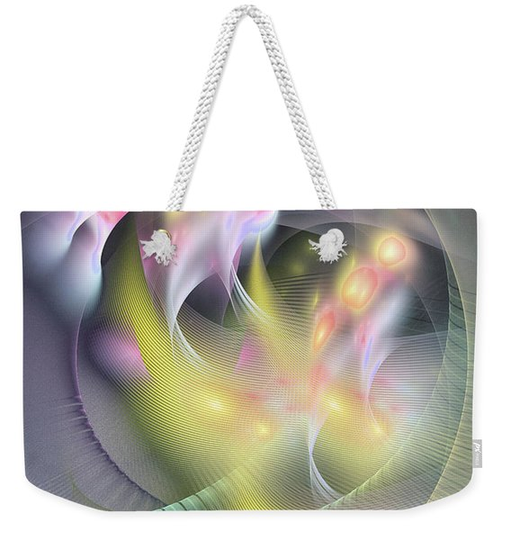 Memoria Futurorum -abstract Art Weekender Tote Bag
