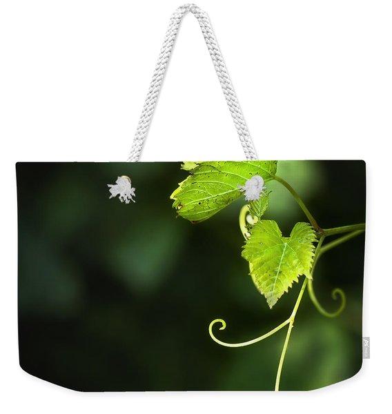 Memories Of Green Weekender Tote Bag