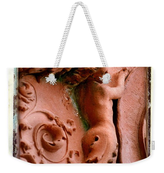 Mermaid Back Carving Weekender Tote Bag