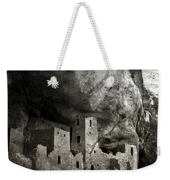 Mesa Verde - Monochrome Weekender Tote Bag
