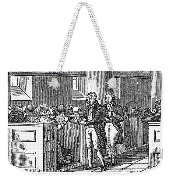 Methodist Love Feast, 1842 Weekender Tote Bag